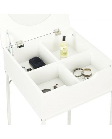 Szafka nocna/ toaletka Leyla biała