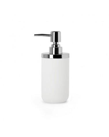 Dozownik do mydła JUNIP biały/chrom