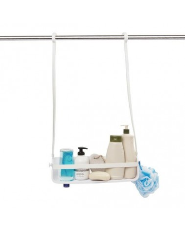 Półka prysznicowa FLEX biała