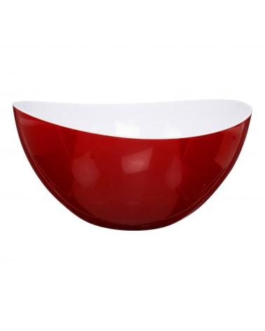 Miska Turp biało czerwona