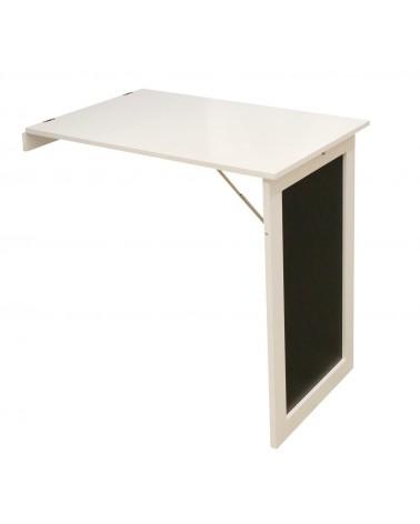 Stolik składany naścienny Ezio biały