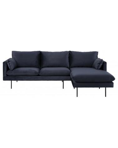 Sofa narożna Sunderland Dark blue prawa