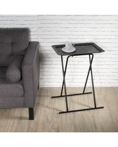 Stolik składany Burst czarny