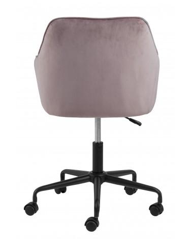Fotel biurowy Brooke VIC różowy