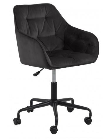 Fotel biurowy Brooke VIC szary ciemny