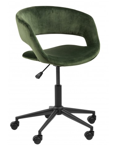 Fotel biurowy na kółkach Grace VIC fores t green