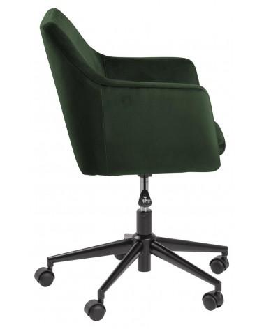 Fotel biurowy na kółkach Nora VIC forest green