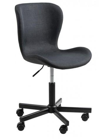 Fotel biurowy Batilda antracyt